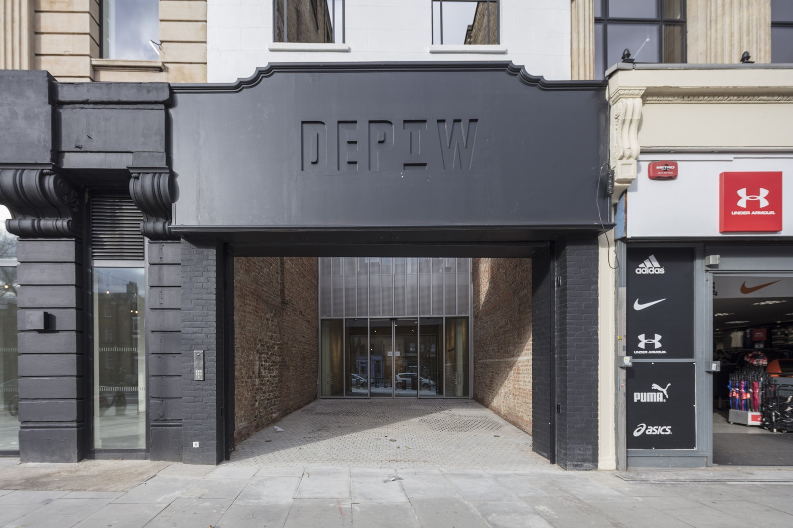 Dept. W, Whitechapel, Office Space